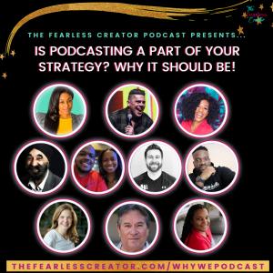 TFC Why We Podcast Panel Episode Drk Bckgrnd
