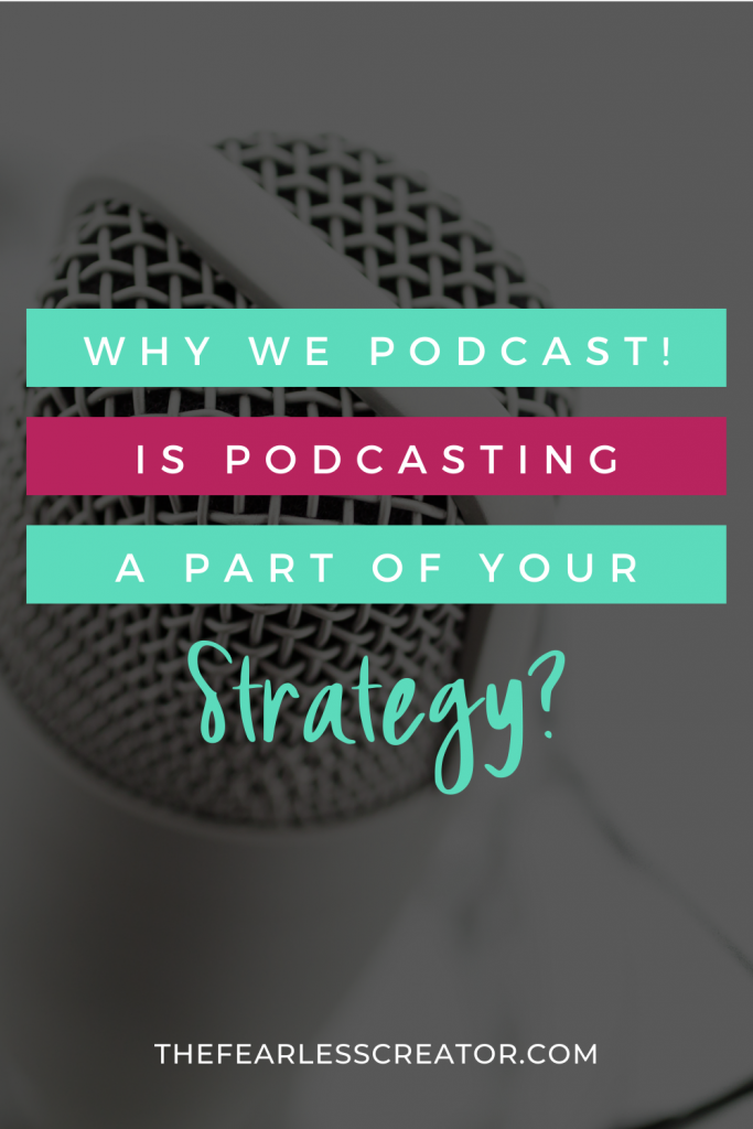 TFC Why We Podcast Pin
